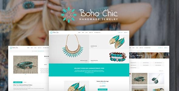 Boho Chic Responsive Shopify Theme - Fashion Shopify