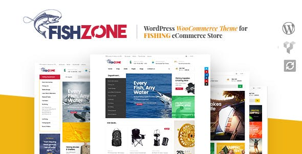 Fishzone Woocommerce WordPress Theme