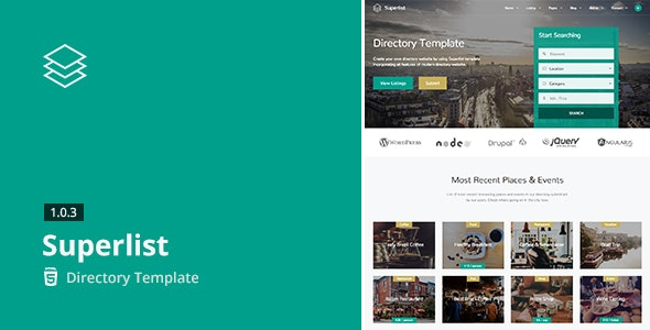 Superlist - Directory Template - Business Corporate