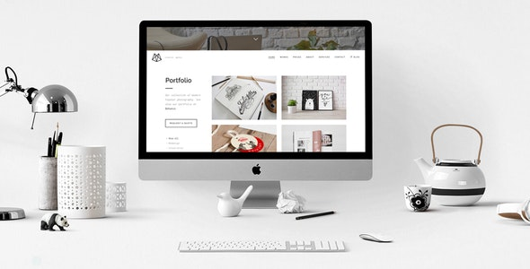 Bushwick Lightweight Minimal Theme - Creative WordPress