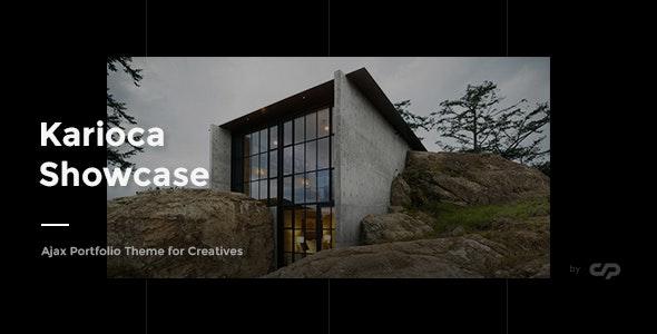 Karioca - Ajax Portfolio Template for Creatives - Creative Site Templates