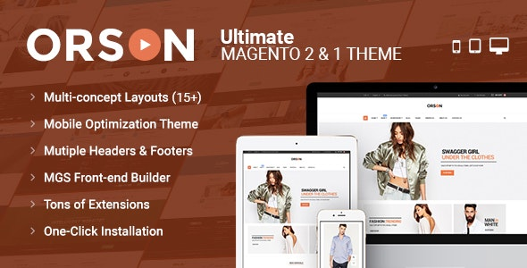 Orson - Ultimate Magento 2 & 1 Theme - Magento eCommerce