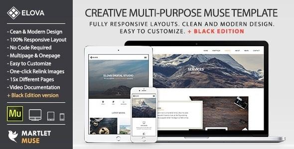 Elova - Responsive Multipurpose Template v1.2 - Creative Muse Templates
