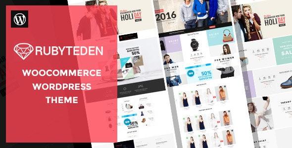 RubyTeden - Responsive WooCommerce Shopfront Theme - WooCommerce eCommerce