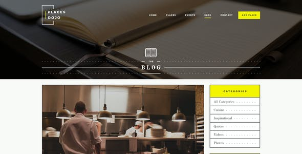 Places Dojo - Directory HTML/CSS Template