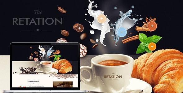 The Retation - Coffee, Bar and Bistr Template - Restaurants & Cafes Entertainment