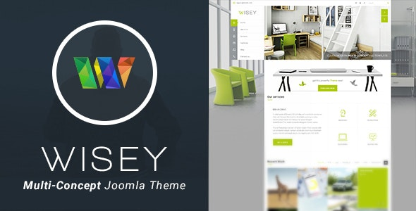 Wisey - High Performance Joomla Template - Business Corporate