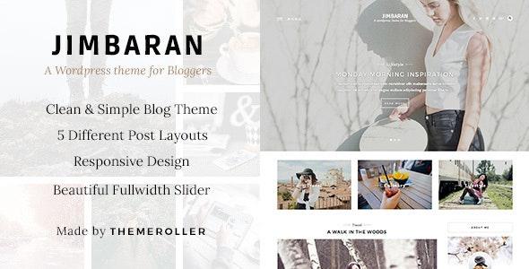 Jimbaran - A Clean & Responsive Blog Theme - Blog / Magazine WordPress