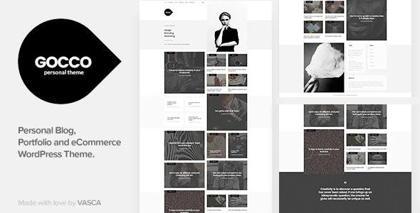 Gocco - Portfolio WordPress Theme - Portfolio Creative