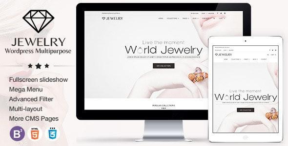 Jewelry - Responsive WordPress Theme - Health & Beauty Retail