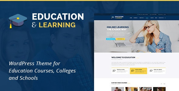 EducationWP -  Education WordPress Theme - WordPress