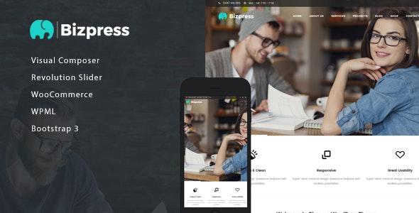 BizPress - Business & Corporate WordPress Theme - Business Corporate