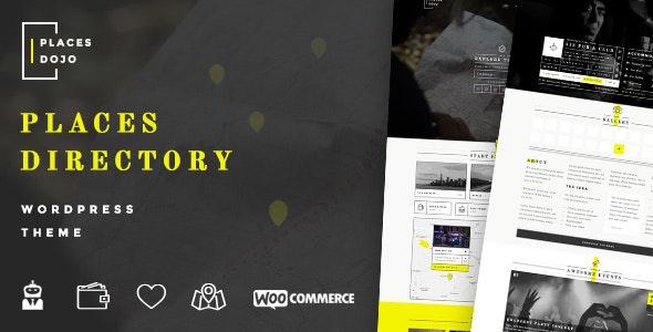 PlacesDojo - Directory WordPress Theme - Directory & Listings Corporate