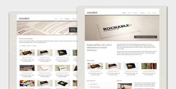 Consultant - Corporate Business WordPress Theme - Business Corporate
