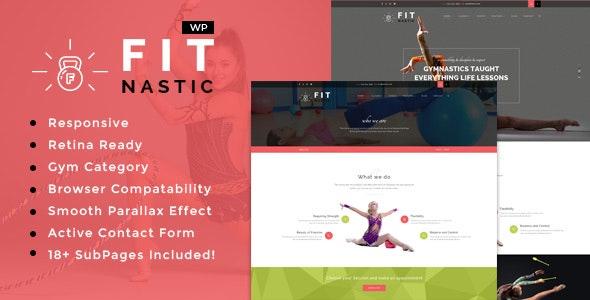 Fitnastic | Gym & Fitness WordPress Theme - Health & Beauty Retail
