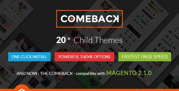 Comeback - Multi-purpose Creative Magento Themes Bundle