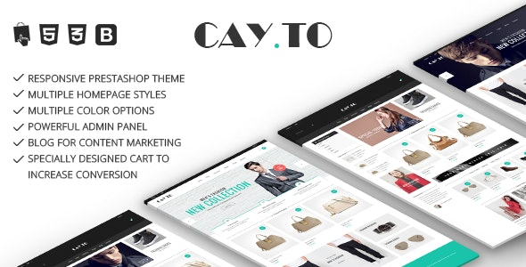 Cayto - Responsive Prestashop Theme - Fashion PrestaShop