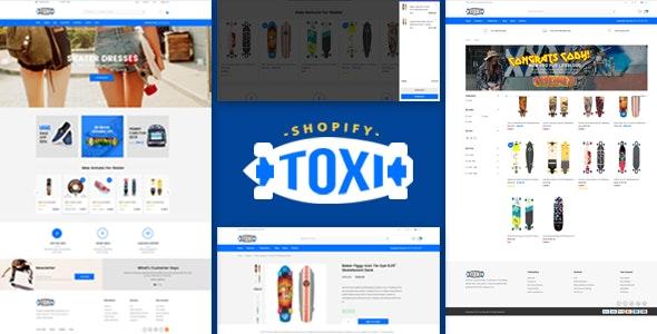 Toxi - Responsive UX Shopify Theme - Fashion Shopify