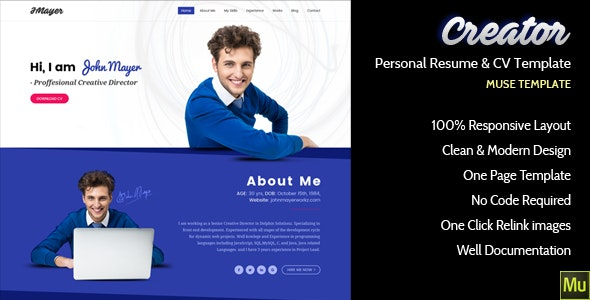 Creator - Personal Muse Template - Personal Muse Templates
