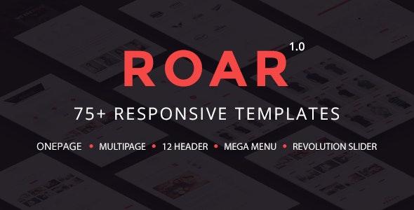 Roar - Modern Multipurpose HTML Template - Business Corporate