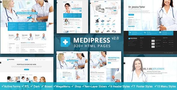 MediPress - Health & Medical HTML - Health & Beauty Retail