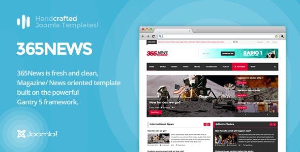 It 365news News Magazine Joomla Template Gantry 5 Editorial Blog