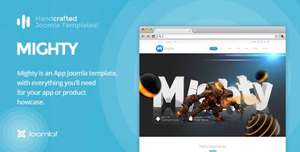 IT Mighty - App & Product Showcase Joomla Template Gantry 5