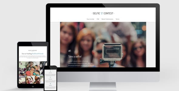 STEPS – Step-by-Step Landing Page