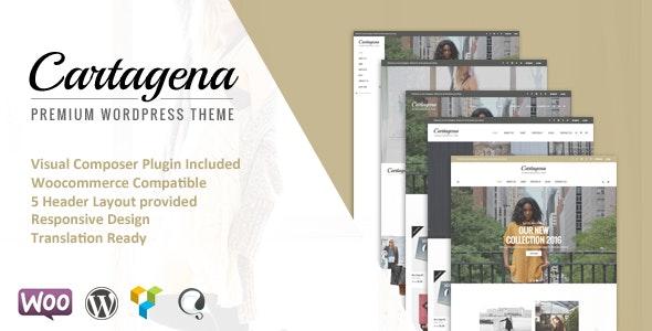 Cartagena - Urban Fashion Woocommerce Theme - Fashion Retail