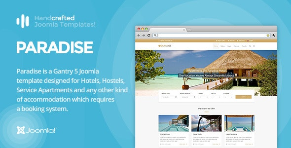 IT Paradise - Gantry 5, Hotel & Booking Joomla Template by