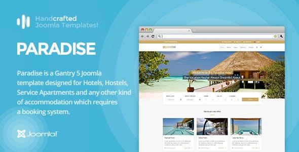 IT Paradise - Gantry 5, Hotel & Booking Joomla Template
