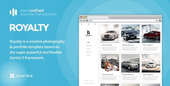 IT Royalty - Gantry 5, Photography & Portfolio Joomla Template - Photography Creative