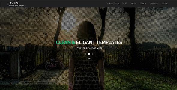 Aven - Multipurpose Parallax HTML Template - Creative Site Templates