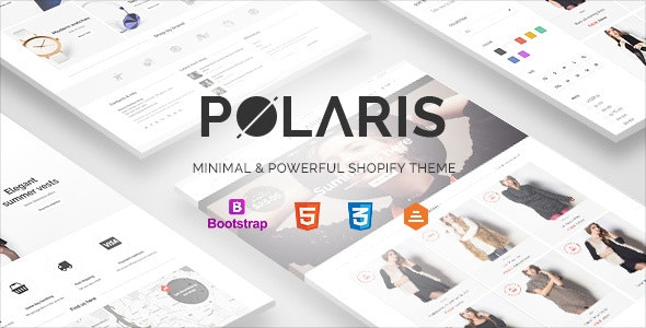 Polaris - Minimal & Powerful Shopify Theme by Planetshine