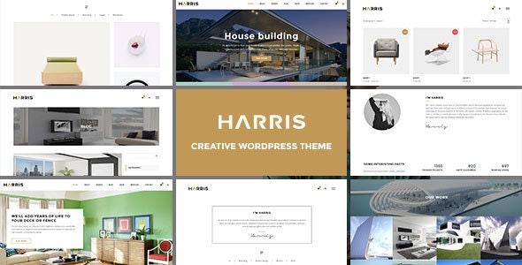 Harris - Creative WordPress Theme - Creative WordPress