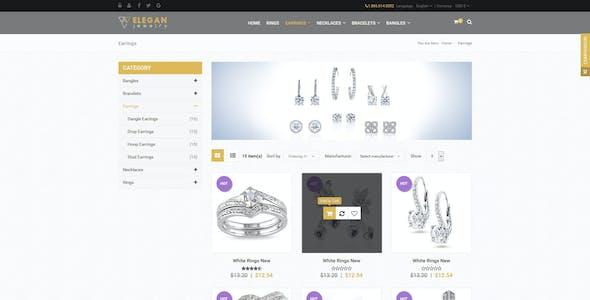 Elegan - Virtuemart Responsive Jewelry Template