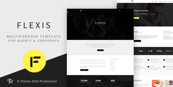 Flexis - Multipurpose Bootstrap Template - Corporate Site Templates