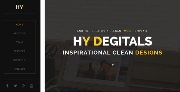 Hy - Creative Muse Template - Creative Muse Templates