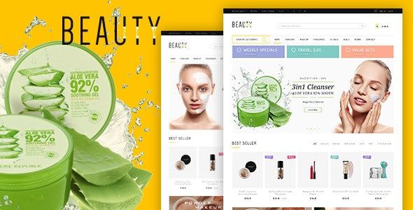 Beauty Shopify Theme - Health & Beauty Shopify