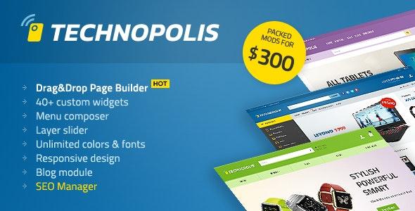 Technopolis Shop - Electronics Store OpenCart Theme - OpenCart eCommerce