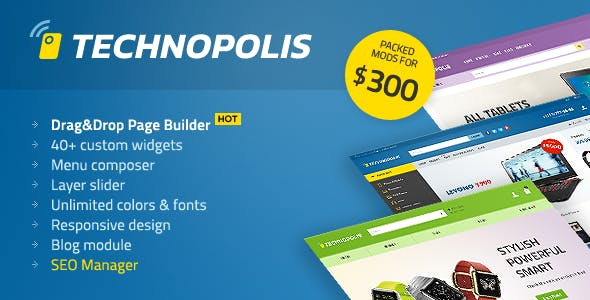 Technopolis Shop - Electronics Store OpenCart Theme