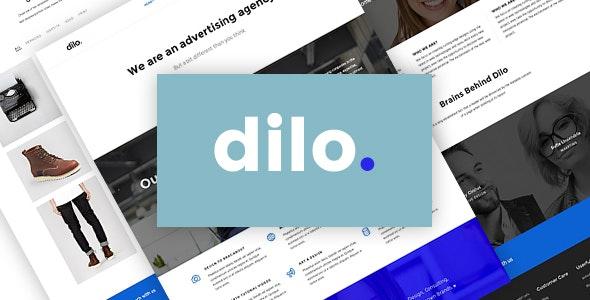 Ri Dilo - Responsive Freelancer & Agency WordPress Theme - Portfolio Creative