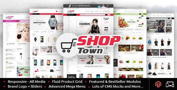 Shop Town - Multipurpose Magento Theme - Shopping Magento