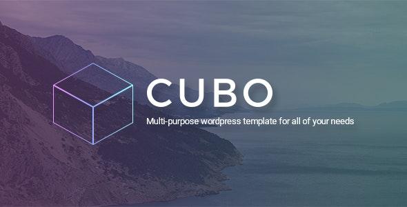 CUBO - Multipurpose Business & Creative PSD Template - Creative PSD Templates