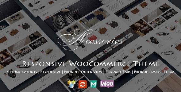 WooAccessories - Responsive WordPress Theme - WooCommerce eCommerce