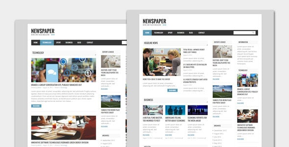 Newspaper - Blog and Magazine WordPress Theme - Blog / Magazine WordPress