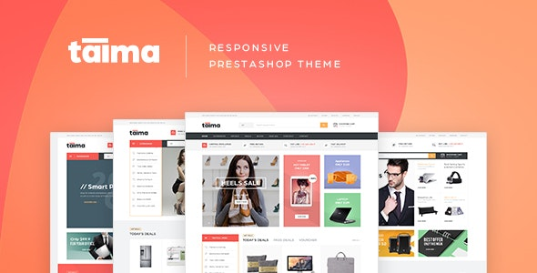 Pts Taima - Advanced Digital Prestashop Theme - Technology PrestaShop