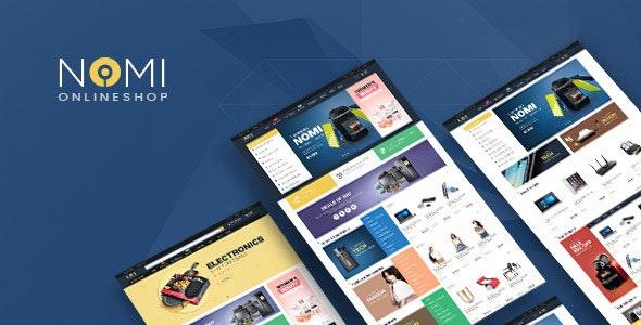 Pts Nomi - Digital Responsive Prestashop Theme - Technology PrestaShop