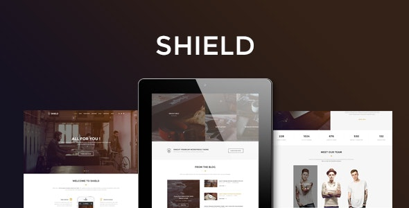 Shield - Corporate and Shop Responsive HTML Bootstrap 3 Template - Business Corporate