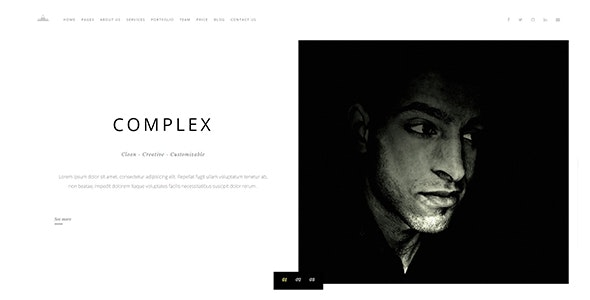 COMPLEX - Creative Digital Agency Template - Creative Site Templates